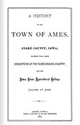 A History of the Town of Ames