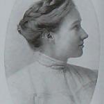 Black and white portrait of Ada Hayden